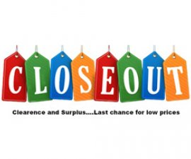 image of Closeouts & Surplus graphic