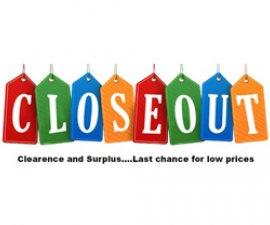 image of Closeouts & Surplus graphic